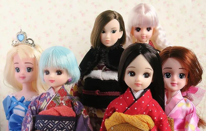 2017年にうちに来たお人形たち
