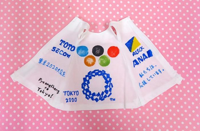 東京オリンピック応援ワンピース!