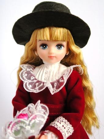青い目のお人形