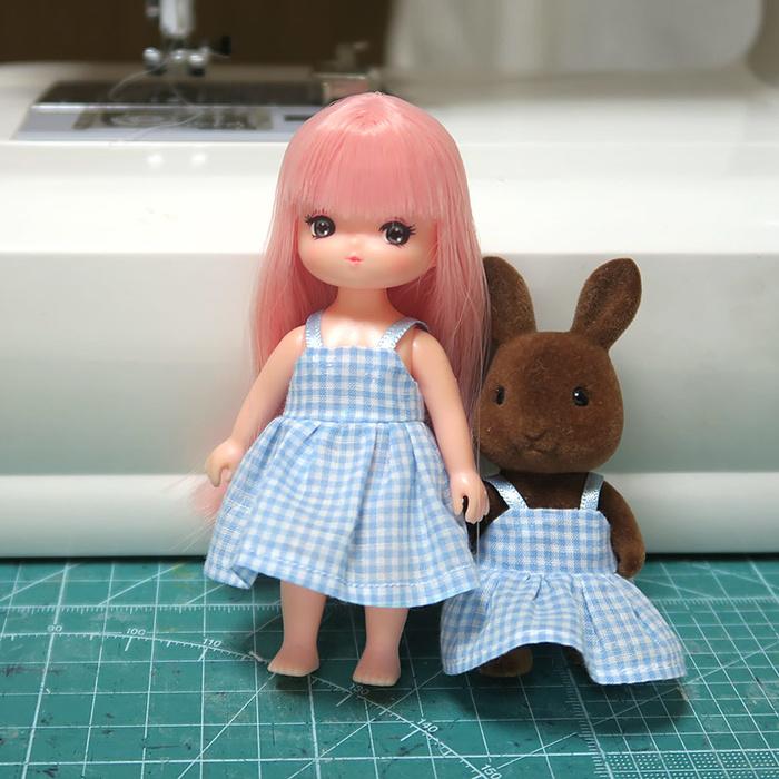 ミキちゃんとウサギの女の子