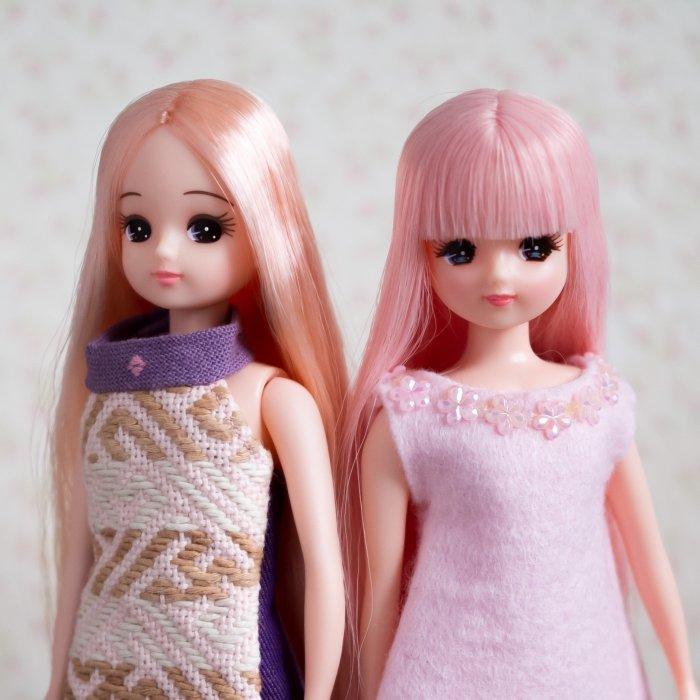 ピンクのお人形教室リカちゃん&スマイルリカちゃん
