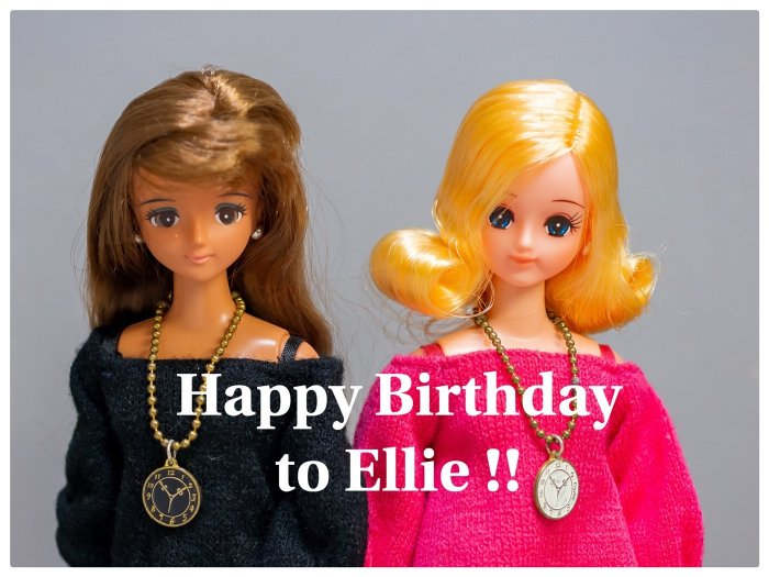 Happy Birthday to Ellie !!