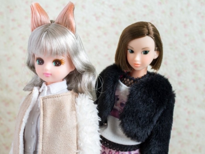 momoko冬のなごりと衣装交換