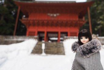 帰りに岩木山神社を参拝